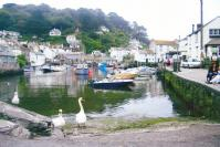 Polperro fishing village