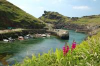 Boscastle fishing village