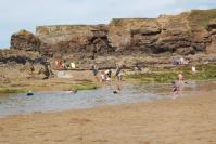 Bude - rock pool Crooklets beach