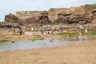 Crooklets beach rock pool