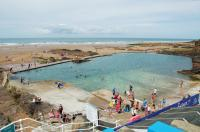 Bude - free beach swimming pool
