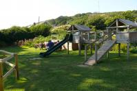 Seaton - play area by beach
