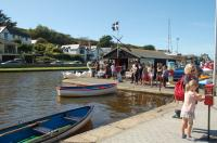 Rowing boat hire - Bude Canal